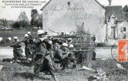 Manoeuvre Du Centre  36  Infanterie  Non Localisée  ( Environ De Châteauroux ?) - Frankreich