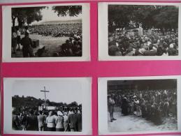 Croisade De La Paix 1946 - Vezelay - Scouts  De France - Documents - 14 Cartes Photos - Scoutisme