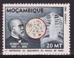 Mozambique - 1982 - 1º Centenário Da Descoberta Do Bacilo De Koch / TB Bacillus Centenary - MNH / ( ** ) - Médecine