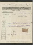 Papier En-tête 1911 Manufacture Armes Et Cycles Saint-Etienne - 1900 – 1949