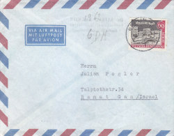 Germany-berlin -  Letter Sent To Israel On The 60th - [5] Berlin