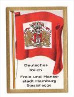Bulgaria Fahnenbilder - 1930 - 23. Freie Und Hansestadt Hamburg, Deutschland - Cigarette Cards