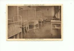 Bruxelles Hôpital Français Reine  Astrid Dortoir Avec Séparations De La Maternité - Bruxelles-ville