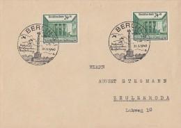 DR Brief Mef Minr.2x 743 SST Berlin 31.3.40 - Germany