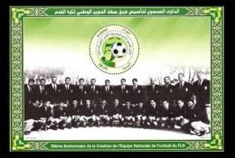 Algérie Algeria Bloc Block Soccer Football Fussball Circular ODD Form Circulaire FLN Team Equipe Club Sport Revolution - Club Mitici