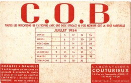 Buvard Médical  ATROPINE COB Laboratoires Couturieux - Chemist's
