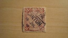 China  1898  Scott #102  Used Dragon Coil - Usati