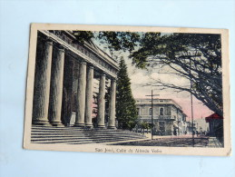 Carte Postale Ancienne : Costa Rica : SAN JOSE , Calle De Alfredo Volio - Costa Rica