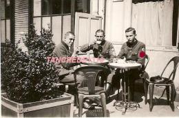 WW2 PHOTO ORIGINALE TOP ! Soldat Allemand RAD à CHATEAUBRIANT Rue Aristide Briand LOIRE ATLANTIQUE 44 P. Nantes Ancenis - 1939-45