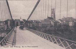 Fribourg Pont Suspendu (1112) - FR Fribourg