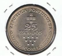 AZORES - 25 Escudos 1980  KM43 - Azoren