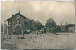 Cpa Dormans -Gare Du C.B.R.  (RARE). - Dormans