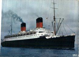 (248M) Ship - Shipping - Bateaux - Cruise Ship - Paquebot Liberté  (old) - Dampfer