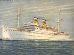 (248M) Ship - Shipping - Bateaux - Cruise Ship - Paquebot Marco Polo - Dampfer