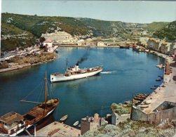 (248M) Ship - Shipping - Bateaux - Courrier De Sardaigne In Bonifacio - Commercio