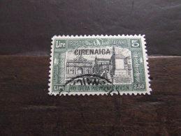 CIRENAICA 1927 MILIZIA I 5+2,50 L USATO - Cirenaica