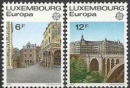 1977 - Lussemburgo 895/96 Ponte - Ponti