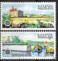 1977 - Malta 549/50 Ponte - Ponti