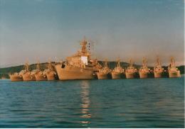 Foto A65 Saar Duits Bevoorradingsschip  17,5 X 25 Cm - Bateaux
