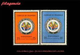 AMERICA. COLOMBIA MINT. 1962 70 ANIVERSARIO DE LA ORGANIZACIÓN DE ESTADOS AMERICANOS - Colombia