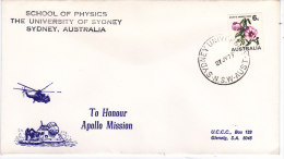 APOLLO 15 Tracking SCHOOL OF PHYSICS The University Of SYDNEY AUSTRALIE 27 Juillet 1971 - Océanie