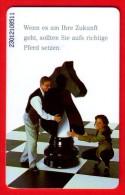 Schaken Schach Chess Ajedrez échecs - Telefoonkaart Duitsland - Spelletjes