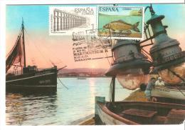 Tarjeta Postal Con Cuño  Marenostrum - 1931-Tegenwoordig: 2de Rep. - ...Juan Carlos I