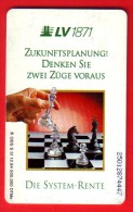 Schaken Schach Chess Ajedrez échecs - Telefoonkaart Duitsland - Games