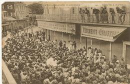 Pointe A Pitre Guadeloupe 242 Les Grevistes Devant Hotel Gouvernement Strike - Grèves