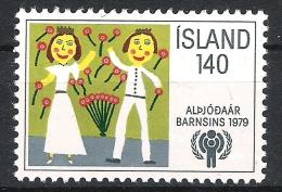 Island 1979 Mi# 543 ** MNH Jahr Des Kindes Year Of Child - 1944-... Republik