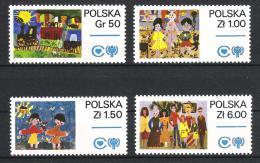 Polen 1979 Mi# 2603-06 ** MNH Jahr Des Kindes Year Of Child - 1944-.... Republik