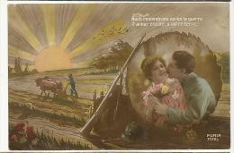 Labour Boeufs Terre Guerre 1914 Poilu - Culturas