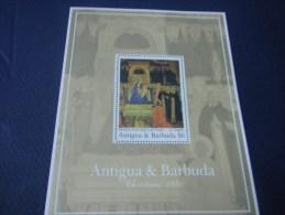 Antigua Barbuda-Art-Painting-Chri Stmas Painting-1991 - Art