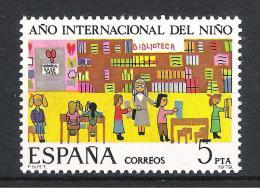 Spanien 1979 Mi# 2411 ** MNH Jahr Des Kindes Year Of Child - 1931-Heute: 2. Rep. - ... Juan Carlos I