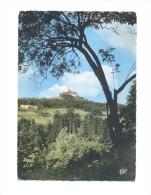 """France, Lorraine, Moselle (57), Dabo, Hôtel Pension """"Au Rocher"""", Le Rocher Et La Chapelle St Léon - Dabo"""