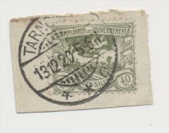 DR Briefausschnitt Oberschlesien MiNr 21 Tarnowitz X X C 13.12.20 - Lettres & Documents