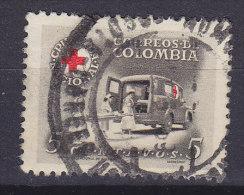 Colombia 1958 Mi. 57     5 C Zwangszuschlagmarke Red Cross Rotes Kreutz Croix Rouge Cruz Roja Krankentransport - Colombia