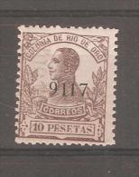 Sello Nº 103he - Rio De Oro