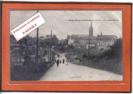 Carte Postale 22. Saint-Quay-Portrieux  L'arrivée Au Bourg Trés Beau Plan - Saint-Quay-Portrieux