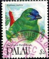 PALAU $2 STAMP BIRD BIRDS FINCH  ISSUED 1991 VFU SG427 READ DESCRIPTION !! - Palau