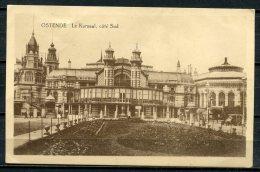"CPA S/w AK Belgien Ostende 1916 Allemagne Feldpost "" Le Kursaal,Cöte Sud,belebt "" 1 AK Used,befördert - Oostende"