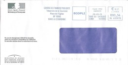 EMA - Flamme  Machine à Affranchir Sur Enveloppe Entière - Centre Des Finances Publiques - 16400 La Couronne 2013 - Poststempel (Briefe)
