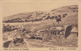 JEHOSHAPHAT - VALLEY OF THE TOMBS - Palestine