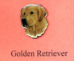 Hunde – Pins GOLDEN - RETRIEVER Maße: Höhe Ca. 2,5 Cm Zustand: Neu - Tiere