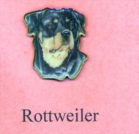 Hunde – Pins ROTTWEILER Maße: Höhe Ca. 2,5 Cm Zustand: Neu - Animals