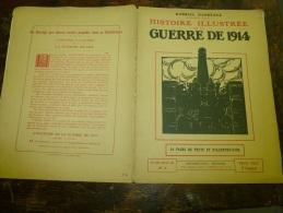 1914 HISTOIRE ILLUSTREE :  Münich Ludwigstrasse; Panorama Quartier Cathédrale De Reims;Château De Schwerin; Goettingue - Livres, BD, Revues