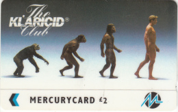 UK - The Klaricid Club(reprint), CN : 42MERA, Used - United Kingdom