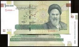 IRAN P New, ( 2010 ), 100000 RIAL, UNC - Iran