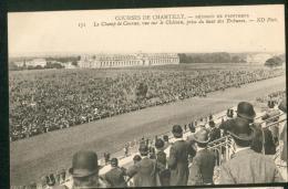 Réunion De Printemps, Le Champ De Courses ... Prise Du Haut Des Tribunes - Chantilly