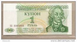 Transnistria - Banconota Non Circolata Da 1 Rublo P-19 - 1994 - Moldavia